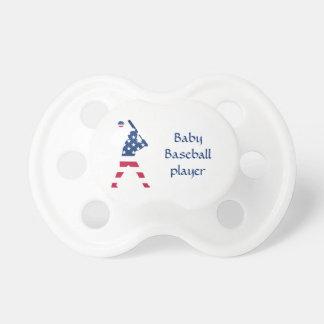 Chupete Bandera del americano del béisbol de América