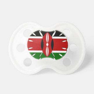 Chupete Bandera del Kenyan de Jambo