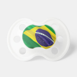 Chupete Bandera internacional el Brasil