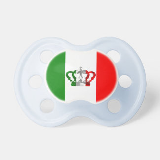 Chupete Bandera moderna del italiano de Italia de la