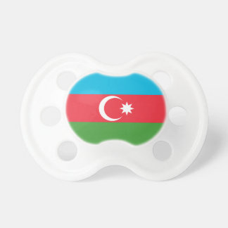 Chupete Bandera nacional del mundo de Azerbaijan