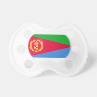 Chupete Bandera nacional del mundo de Eritrea