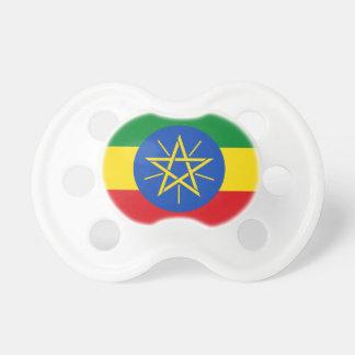 Chupete Bandera nacional del mundo de Etiopía