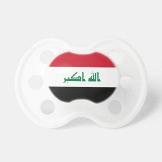 Chupete Bandera nacional del mundo de Iraq