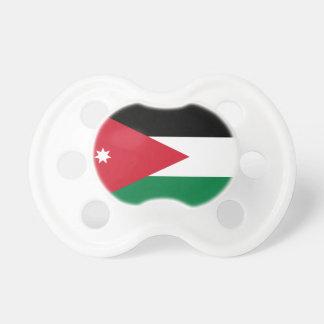 Chupete Bandera nacional del mundo de Jordania