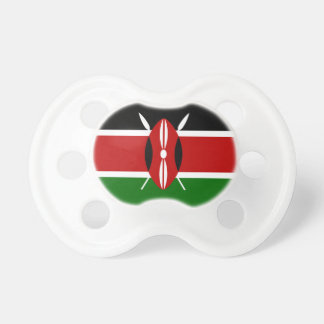 Chupete Bandera nacional del mundo de Kenia