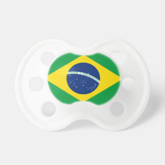 Chupete Bandera nacional del mundo del Brasil