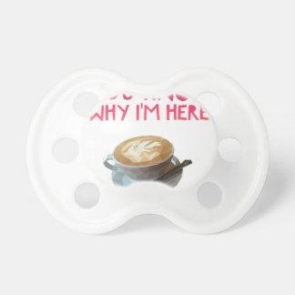 Chupete Beca bebida anónima del AA del café