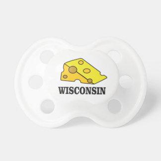 Chupete Cabeza del queso de Wisconsin