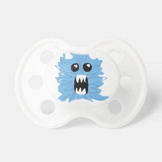 Chupete Camisa azul del bebé del monstruo