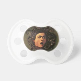 Chupete Caravaggio - medusa - ilustraciones italianas
