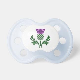 Chupete Cardo escocés del emblema