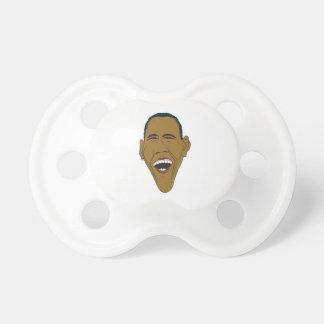 Chupete Caricatura de Obama