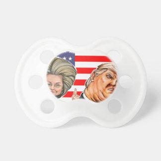 Chupete Caricatura del triunfo y de Hillary