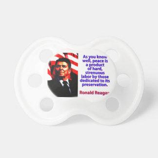 Chupete Como usted sabe bien - Ronald Reagan