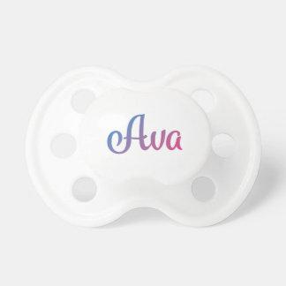 Chupete Cursive elegante de Ava