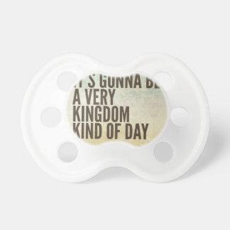 Chupete Día del reino un poco