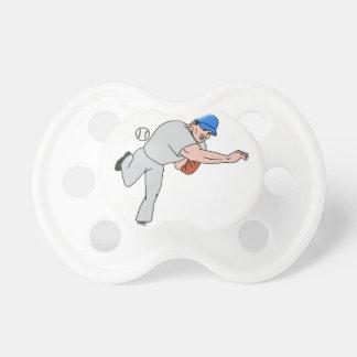 Chupete Dibujo animado de la bola del tiro de la jarra del