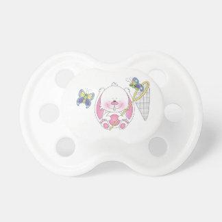 Chupete Dibujo animado del conejito del bebé