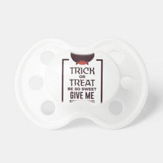Chupete Diseño dulce de Halloween del caramelo del truco o