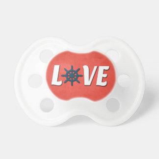 Chupete Diseño náutico del amor