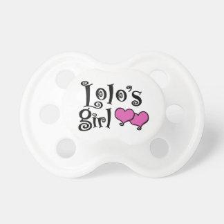 Chupete El chica de Lolo