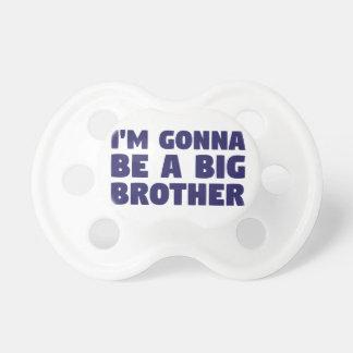 Chupete El ir a ser un hermano mayor