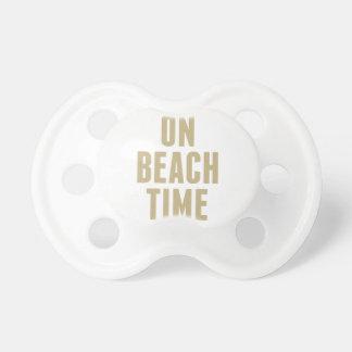 Chupete El tiempo de la playa