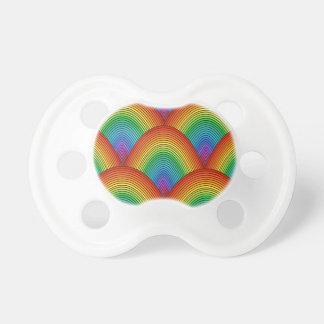 Chupete escalas del arco iris
