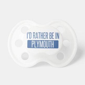 Chupete Estaría bastante en Plymouth