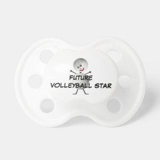 Chupete Estrella futura del voleibol