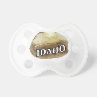 Chupete Etiqueta de la patata de Idaho