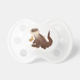 Chupete Goldfish del n de la nutria