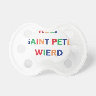 Chupete Guarde el diseño extraño de Pete del santo