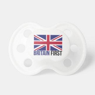Chupete Haga Gran Bretaña la gran otra vez bandera Brexit