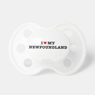 Chupete I corazón mi Terranova