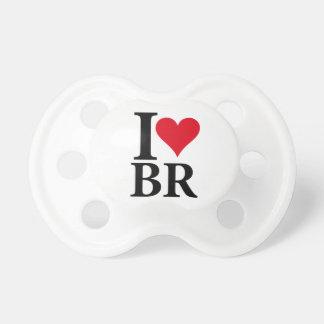 Chupete I Love Brasil BR Edition