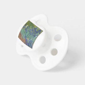 Chupete Iris de Vincent van Gogh que pintan el trabajo de