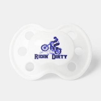 Chupete Jinete sucio de la bici de la suciedad de Ridin