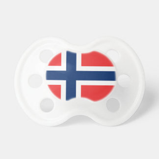Chupete La bandera de Noruega - Escandinavia