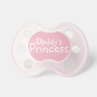Chupete La princesa del papá rosado lindo