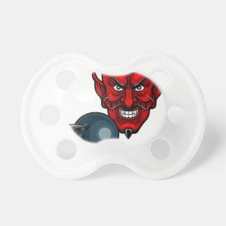 Chupete Los bolos del diablo se divierten la mascota