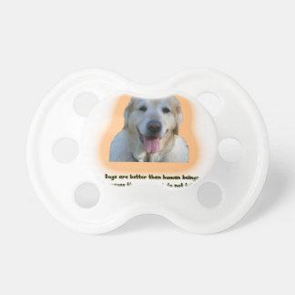 Chupete Los perros son mejores que seres humanos