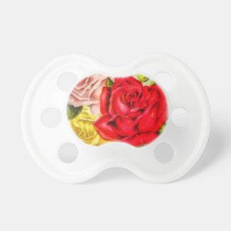 Chupete Manojo de acuarela de los rosas