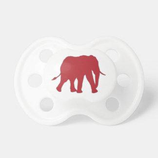 Chupete Marea para el elefante Pacy de los colmillos