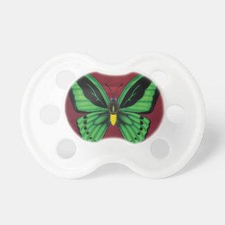 Chupete Mariposa de Birdwing de los mojones
