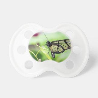Chupete Mariposa de cristal del ala