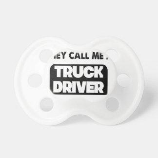 Chupete me llaman un conductor de camión