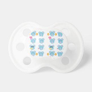 Chupete Mouses divertido en la acción para el bebé