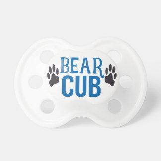 Chupete Pacificador de Cub de oso del bebé
